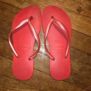 Havaianas Bright Pink Flip Flop